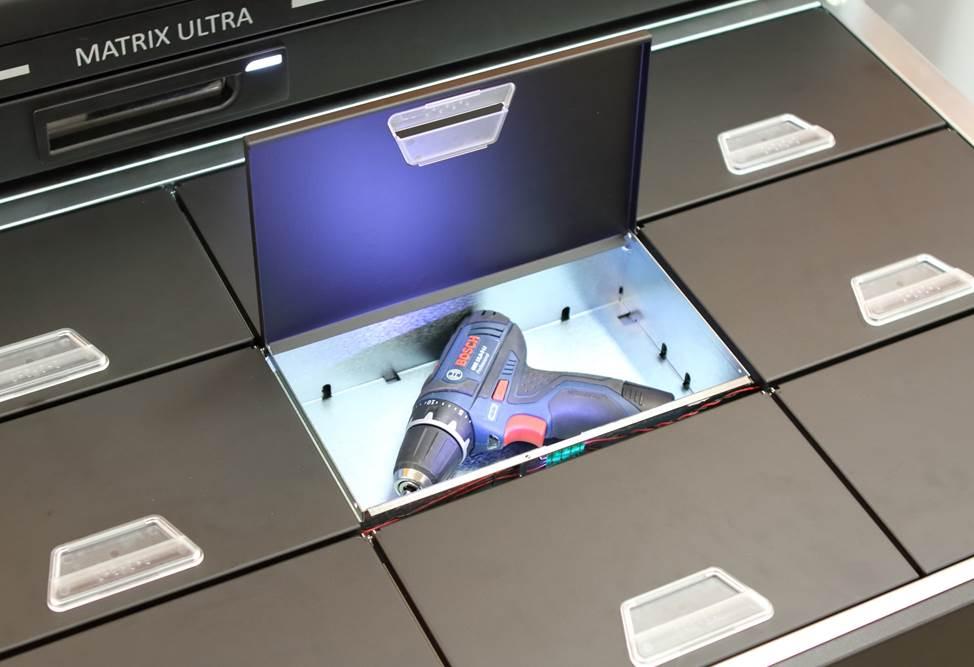 Industrial tools locker